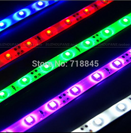 Wholesale Choose Computer - Wholesale- High quality Red Blue Green Color choose LED 30cm led light cool bar LED trip For PC Case