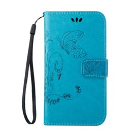Wholesale Cover Huawei Butterfly - Rope Cover Skin For Huawei Mate 8 NEXUS 6P 5X 4C P9 P8 Lite Y550 Y6 G8 Cases Butterfly PU Leather Stand Wallet With Credit Card Slots Shell