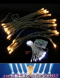 Wholesale Battery Operated Warmer - 2016 New 3M 30 LEDs Battery Operated Mini LED Copper Wire String Fairy Sparkle Lights Party Xmas MYY169