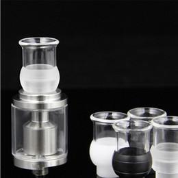 bong ancho Rebajas Y Pyrex Glass bong Ball Drip Tip para cigarrillo electrónico Tank Atomizer 510 Boquillas Wide Bore Drip Tip
