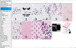 Wholesale Performance Plus - For Iphone 8 7 Plus Galaxy J310 J3 2016 Feel Flower Butterfly Wallet Leather For Sony Xperia X X Performance Blossom Case Flip Cover Pouch