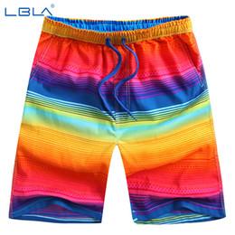 Wholesale Cord Pants - Wholesale-Quick-drying shorts elastic cord Beach Short Pants Sport Surf Shorts,Rainbow color High Quality size L-4XL
