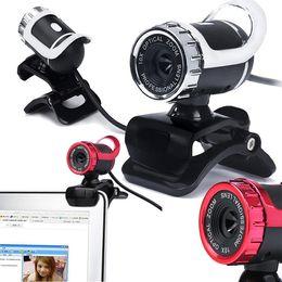 Wholesale Web Camera For Desktop - A859 USB 2.0 50 Megapixel HD Camera Web Cam 360 Degree with MIC Clip-on for Desktop Skype Computer PC Laptop