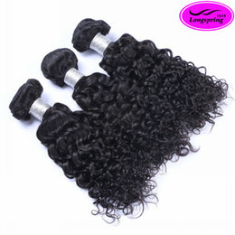 Wholesale Jerry Curly Virgin Brazilian Hair - Clearance Sale!!! Brazilian Hair Weaves 3pcs Lot Unprocessed Malaysian Indian Peruvian Jerry Curly Virgin Human Hair Extensions