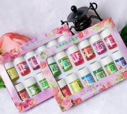Wholesale Spa For Massage - 12pcs Brand New Essential Oils Pack for Aromatherapy Spa Bath Massage Skin Care Lavender Oil With 12 Kinds of Fragrance