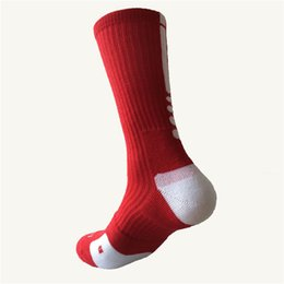 Wholesale Walk Bike - men's sock quick-dry Bike Sock Outdoor Breathable Cycling Sock Badminton Football Basketball Walking Running Tennis Sports Socks hot