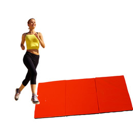 Wholesale Folding Gym Mats - Thick Folding Panel Gymnastics Mat Gym Fitness Exercise Stretching Yoga