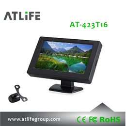 Wholesale Monitor Boards - 4.3 inch Car LCD Monitor Back Up Camera System dash board with HD camera
