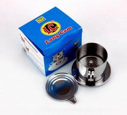 Wholesale coffee box set - Vietnam Coffee Filter Set Vietnamese Traditional Coffee Phin Filter Coffee Infuser