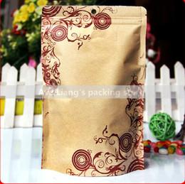 Wholesale Compound Bag - 22x29cm kraft paper compound aluminum foil self-reliance bone bags  dried fruits bags  food packaging bags