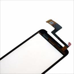 Один касание кабель онлайн-Переднее стекло окна сенсорная панель для HTC One V T320e G24 сенсорный экран Digitizer с датчиком кабель запасные части