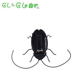 Wholesale Solar Power Black Cockroach Bug - Kids Solar Toys Power Energy Solar Cockroach six Legs Black Children Insect Bug Teaching Fun Gadget Toy Gift For Kids