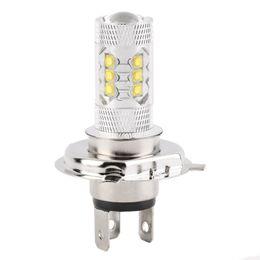 Wholesale universal xenon fog light - H4 80W Cree LED Car Fog Lamp h4 led headlight Bulb Auto lights car led bulbs Car Light Source parking 12V 6000K xenon White