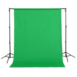 Wholesale Green Muslin Backdrop - 1.5x3m 5x10ft 100% Cotton Muslin PRO Photo Photography Backdrop Background Green