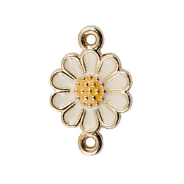 Wholesale Kc Gold Plating - Genuine KC gold plated charm cherry flower pendant earrings alloy fittings
