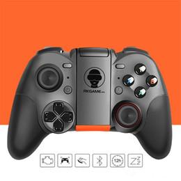 s3 tv telefon Rabatt Wireless Bluetooth Gamepads Gaming Controller GEN GAME S5 Joystick Gamepads für Android Smart TV mit Halter