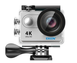 Wholesale New Fix Pro - Action camera Original EKEN H9 HD 4K WiFi HDMI 1080P 2.0 LCD 170D pro Sports camera waterproof with retail box