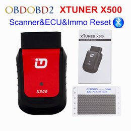 Wholesale car diagnostic scanner pc - New Arrival XTUNER X500 Bluetooth Special Function Automotriz Scanner OBD2 Car Diagnostic Interface For Android PAD PC