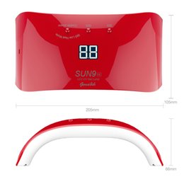 Wholesale Led Gel Nail Lamp 12 - led genailish 24W SUN9SE Nail LED Nail dryer 12 LEDs UV lamp for Nails Curing All Gels