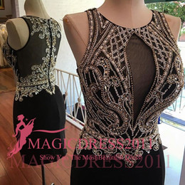 Wholesale Dresses Queens - 2016 Little Black Cocktail Dresses Sheath Collar Beaded Sheer Neck Jewel Sexy Illusion Short Mini Homecoming Party Queen Prom Dresses