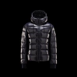 Wholesale Long Jackets Hood For Man - 2017 Fashion Boys Mens Duck Down Jackets Bright Color Short Style Zipper Outwear Stripe Winter Clothes With Big Hood Warm Down Coats for men