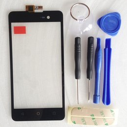 Wholesale Wholesale Dash Touch Screen - Wholesale- For BLU Dash M Capactive Wholesale Touch screen Digitizer front glass replacement TouchScreen for Micromax Spark 2 Q334 + tools