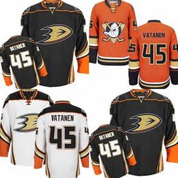 2e2906085 Hot Sale Cheap Mens Anaheim Ducks 45 Sami Vatanen (HOME BLACK