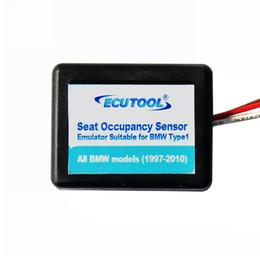 Wholesale E46 Seats - Wholesale-10pcs airbag Seat Occupancy Occupation Sensor SRS Emulator support E31 E36 E38 E39 E46 E53 E60 E92 free shipping