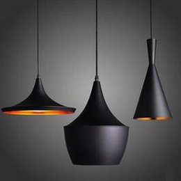 Wholesale Tom Dixon Beat Pendant Lights - Factory Price!!! Cheap New TOM Dixon Beat Bedroom Kitchen Bar Pendant Lamp Ceiling Light have stock 1 Set DHL Fast Shipping