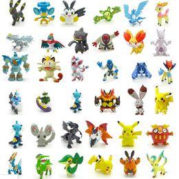 24 pçs / set 2-3 cm Pokeball Figuras Bonito Mini Pikachu Figuras Monstro Modelo Brinquedos Aleatórios Brinquedos Coleção Anime Crianças Brinquedos cheap anime mini de Fornecedores de anime mini