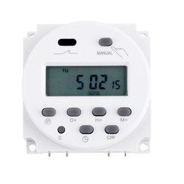 Wholesale Timer 12v 16a - Hot Worldwide LCD Digital Power Programmable Timer AC 12V 16A 4.4VA Time Relay Switch <US$10 no tracking