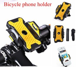 Wholesale Cycling Bracket - Cycling Bike Bicycle Phone Holder adjustable Width Bicycle Bracket Antiskid Phone case Support for iphone 6 6s 5s 6plus samsung s6 s7