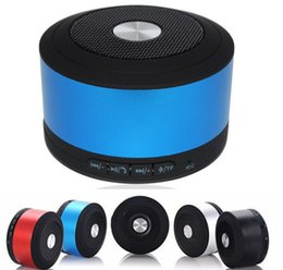 Wholesale N8 Support - Colorful N8 Bluetooth Speaker 3.5mm Audio Port TF Card Slot Speaker Box With MIC Support Hand