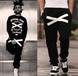 Wholesale Girls Dance Sweatpants - Wholesale-Free Shipping tops Quality brand Hiphop 4xl 3xl 5XL Men Women Hip Hop Pants trousers Boys Girls Hip-hop Dance Cross-Sweatpants O