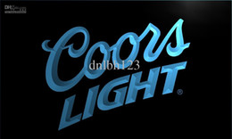 Wholesale Coors Beer Neon Sign - LE012-TM Coors Lite Beer NR Bar Pub Club Neon Light Signs. Advertising. led panel