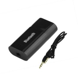 Wholesale Cheap Bluetooth Car Radio - USB Bluetooth Music Stereo Wireless Receiver Adapter for Car Home Use hot new Cheap adapter scsi