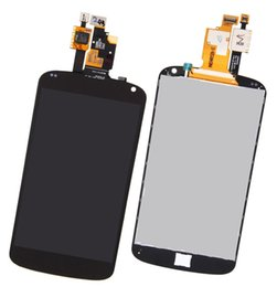 Wholesale Nexus Touch Panel Replacement - AAA Quality Black LCD Lens Touch Screen Display Digitizer Assembly Replacement For LG E960 Google Nexus 4 FREE SHIPPING