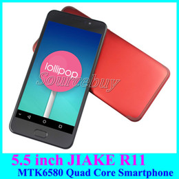 Wholesale Cheap 3g Unlocked Phones - Popular Android Phone 5.5 inch MTK6580 Quad Core Dual SIM 512MB 4GB 3G Smartphone Unlocked Smart-wake Cheap Mobile Cell Phones free case