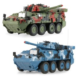 Wholesale Toy Tank Battle - Wholesale- RC Fight Tank CRAZON 333-ZJ11A 1 20 Scale Two Infrared Remote Control Armored Tank Battle Vehicles Toys for Kids