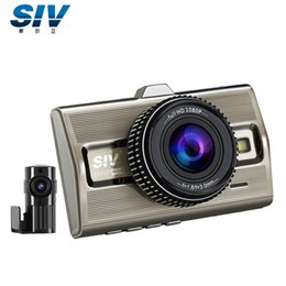 Wholesale Dvr Separate - 2016 new SIV M9S Car DVR NT96663+IMX322 Sensor FULL HD 1080P Separated Dual Lens Car Camera GPS Optional Free shipping