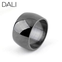 Wholesale Cheap Titanium Bands - Fashion Jewelry,12mm Width Stainless Steel Ring,Big Fashion Titanium Steel Ring,Wholesale Jewelry Supplier WTR04 Cheap jewelry findings