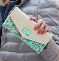 Wholesale Phone Clutch Zip Purse - 2016 Women Zip PU Leather Clutch Case Lady Long Handbag Wallet Purse Phone Card Case