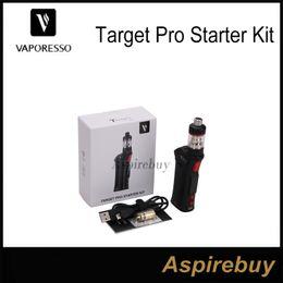 Wholesale Pros Kit - Vaporesso Target Pro Starter Kit 75W TC Kit Update from Target 75w VTC Kit Target Pro Mod More Output Modes Firmware Upgradable 100%Original