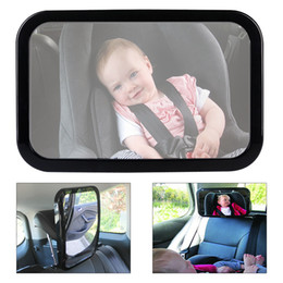 Wholesale Baby Care Car Seat - Car Rearview Mirror Safety Easy View Back Seat Mirror Baby Viewer Inside Rearview Mirror support Baby Care for Cars CMO_30Q