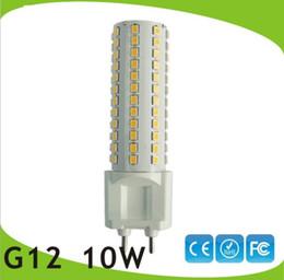 Wholesale Metal Halide Wholesale - free shipping 10pcs lot G12 led bulb light 10W15W G12 led lamp replace 35W Metal halide lamp AC85-265V