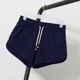 Wholesale Woman Korean Short Pants - Wholesale- Women Summer Street Fashion Shorts Elastic Waist Short Pants Women Loose Soft Cotton Casual Short Femme korean shorts