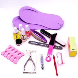 Wholesale Manicure Set Beauty Tools - 16pcs set Nail Tools  Manicure Set tools Nail beauty Cuticle Grooming Kit Case Makeup Accessories Mini Manicure Kit