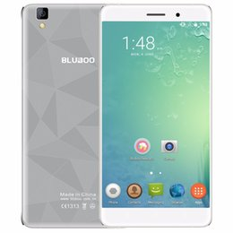 Wholesale Mini Tv Dual Core - Original Bluboo Maya Android 6.0 5.5inch 3G Mobile Phone MTK6580 Quad Core 1.3GHz 2GB RAM 16GB ROM 13.0MP+8.0MP 1280*720 3000mAh Cellphone