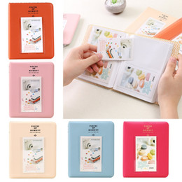 Wholesale Scrapbook Themes - 64 Pockets DIY Mini photo album scrapbook Handmade Travel Theme Photo Albums Family Memory Record scrapbook Album