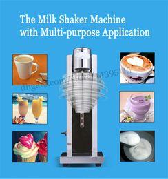 Wholesale Head Regulators - Electric milk shaker machine stainless steel single head milk shake machine with speed regulator and stainless steel cup milk shaker blender